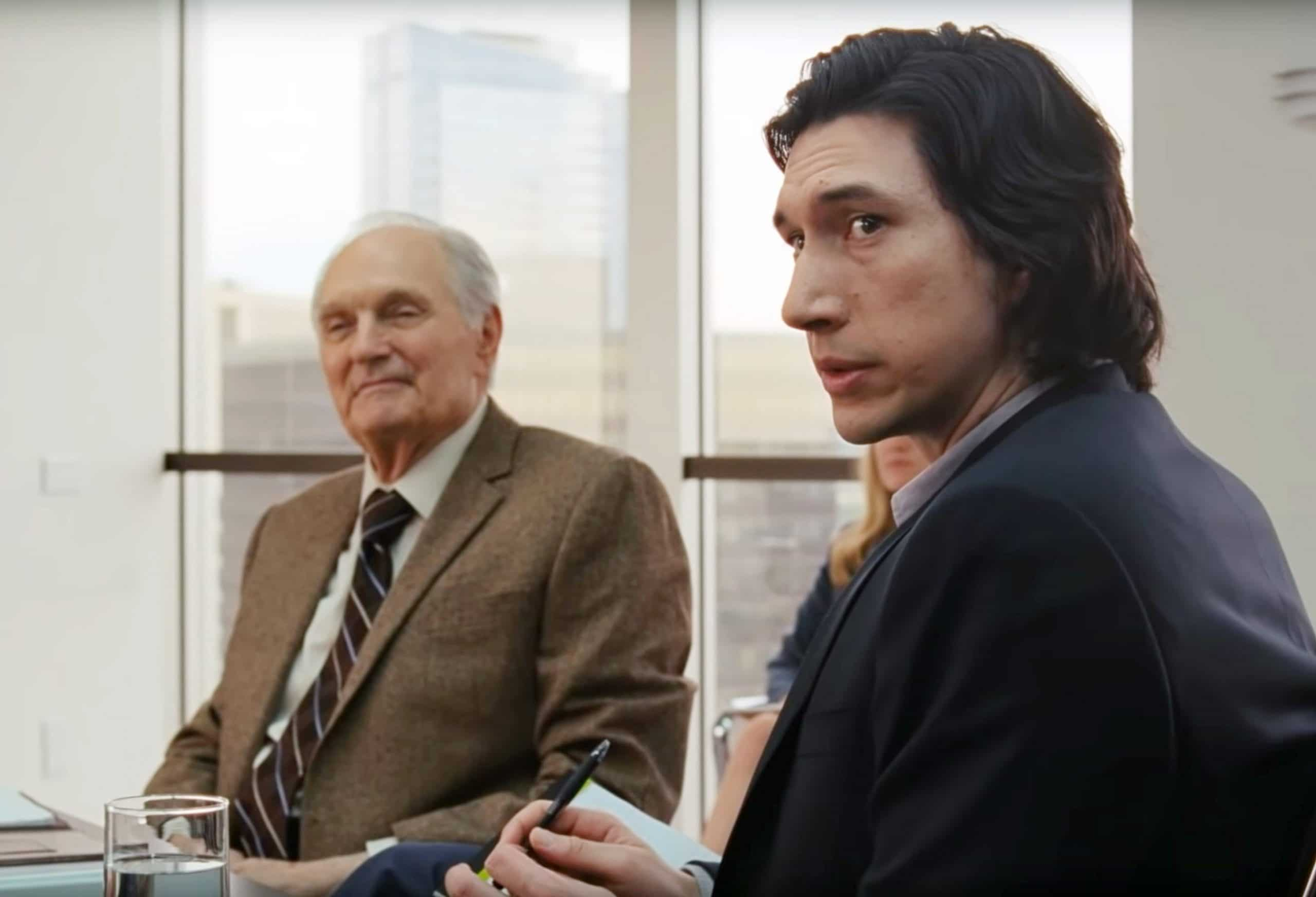 MARRIAGE STORY, from left: Alan Alda, Adam Driver, 2019