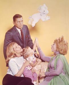 BEWITCHED, Agnes Moorehead, Erin Murphy, Elizabeth Montgomery, Dick York, Season 3, 1966-1967.
