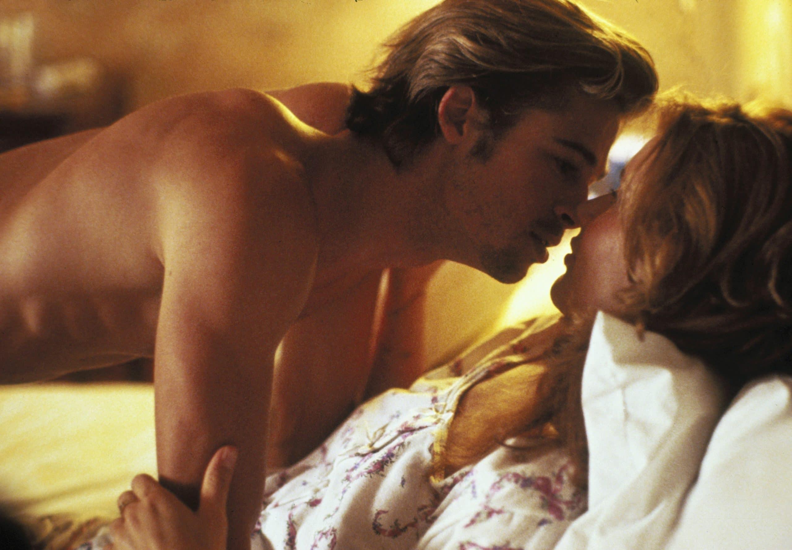 THELMA & LOUISE, Brad Pitt, Geena Davis, 1991