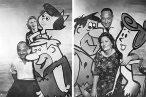 THE FLINTSTONES, Mel Blanc, Barney Rubble, Bea Benadaret, Betty Rubble, Fred Flintstone, Alan Reed,