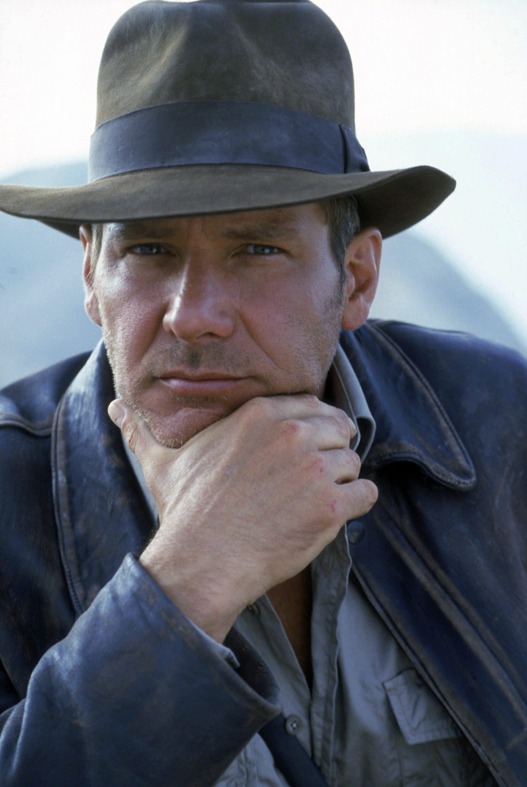 INDIANA JONES AND THE LAST CRUSADE, Harrison Ford as Indiana Jones, 1989