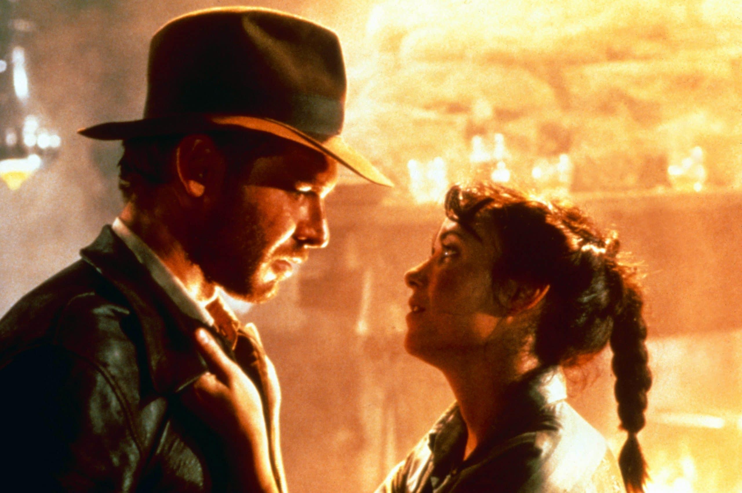 RAIDERS OF THE LOST ARK, (aka INDIANA JONES AND THE RAIDERS OF THE LOST ARK), from left: Harrison Ford as Indiana Jones, Karen Allen