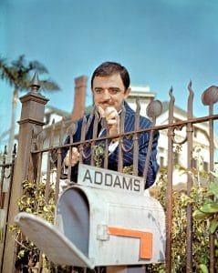 John Astin as Gomez in the Addams Family
