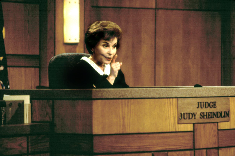 JUDGE JUDY, Judge Judy Sheindlin, 1998. 1996-