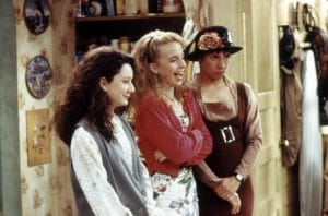 Lecy Goranson as becky conner on roseanne