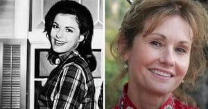 lori saunders then and now