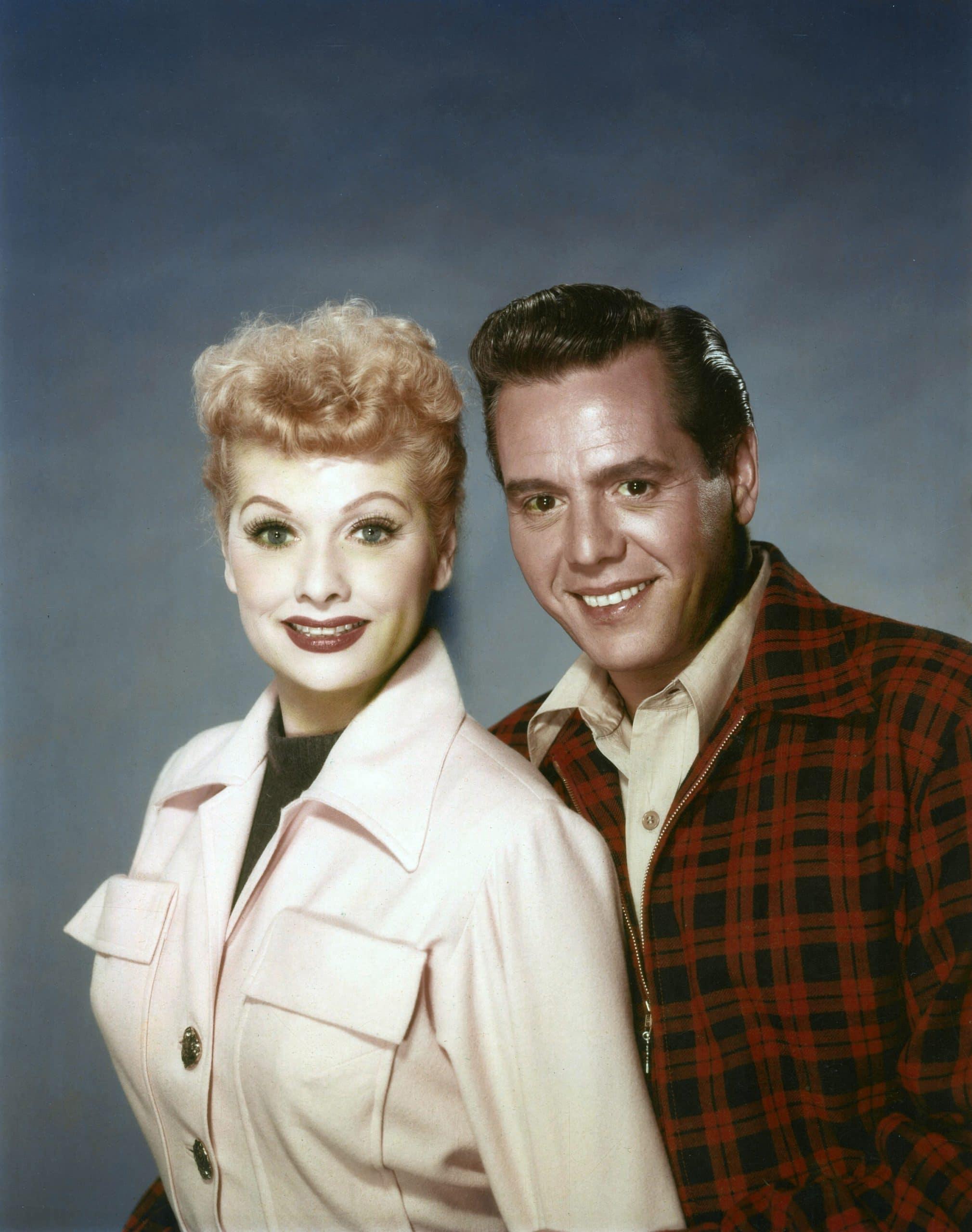 FOREVER, DARLING, from left, Lucille Ball, Desi Arnaz, 1956