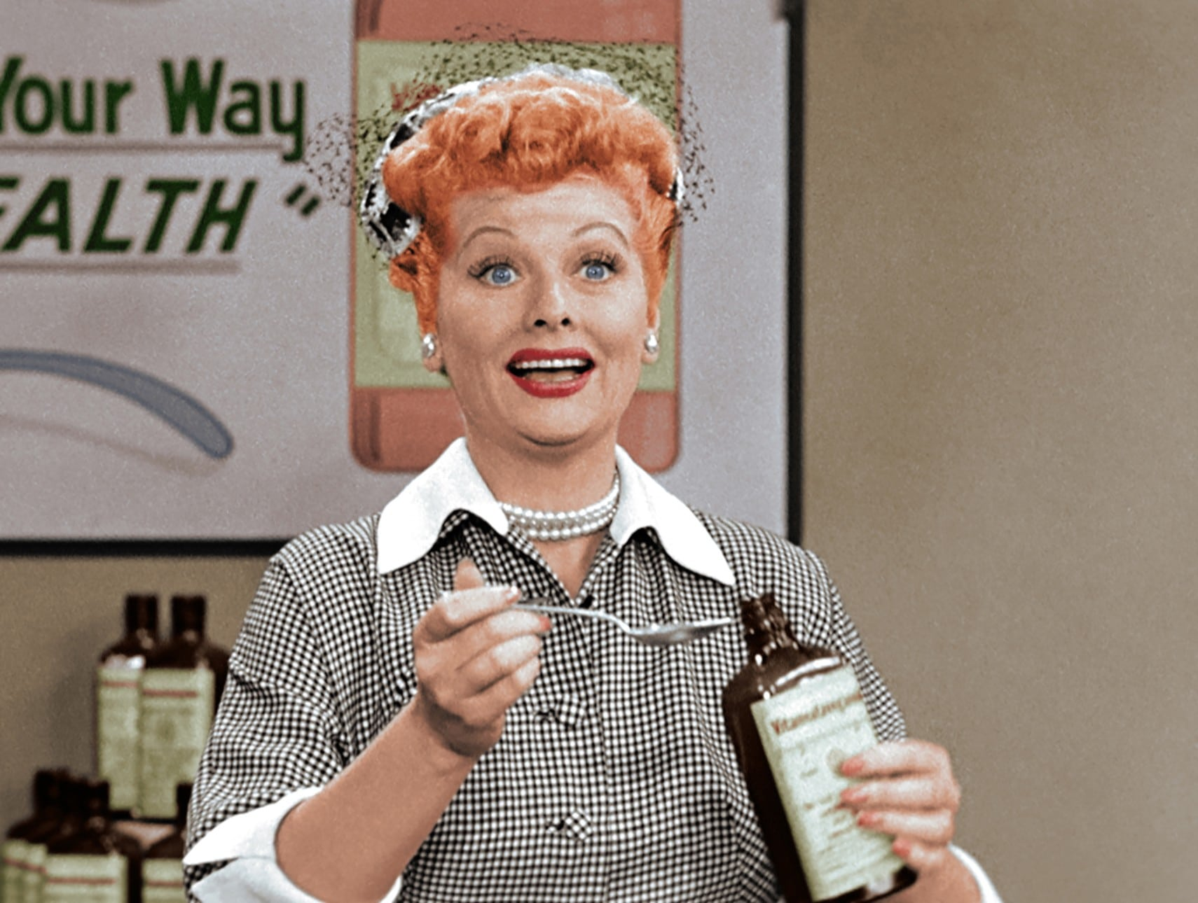 I LOVE LUCY: A COLORIZED CELEBRATION, Lucille Ball