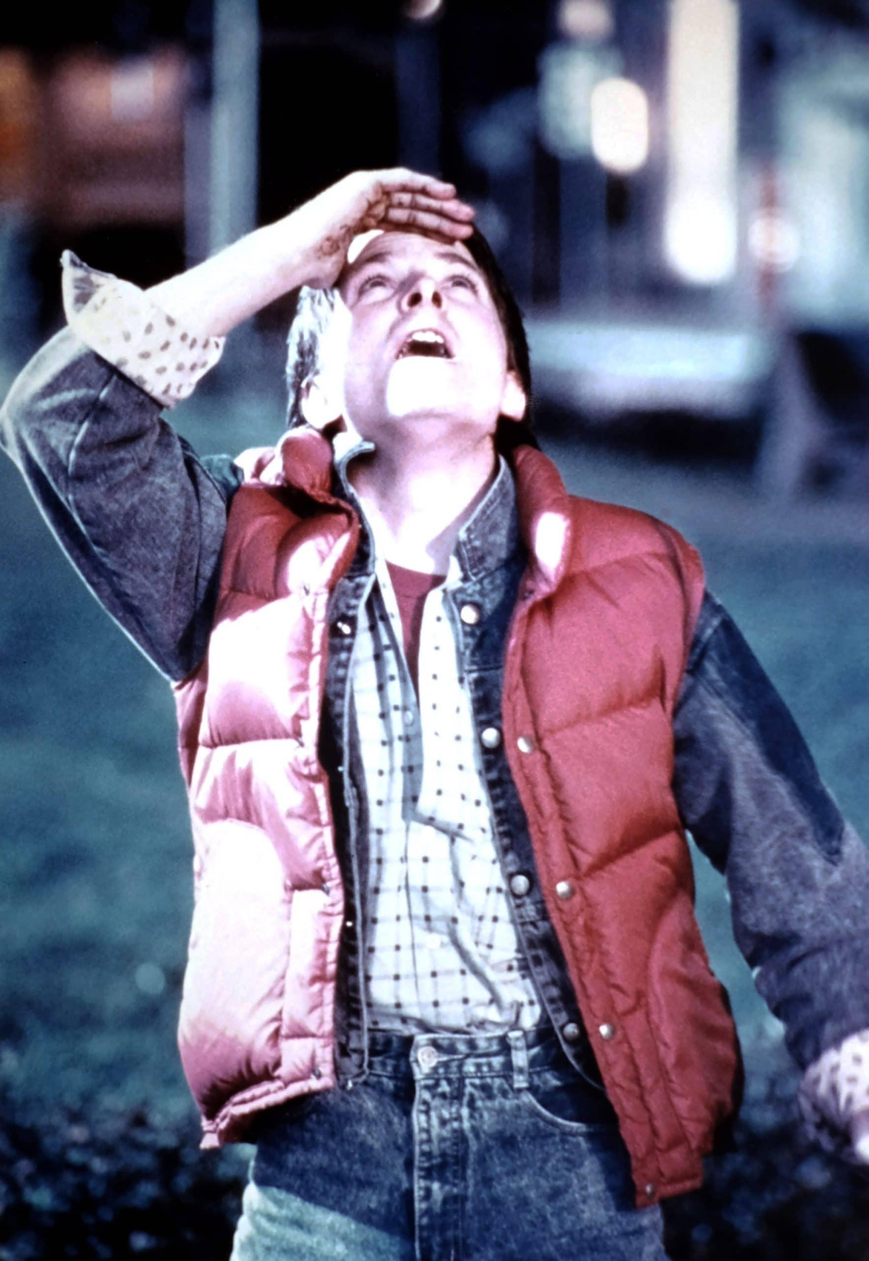 BACK TO THE FUTURE, Michael J. Fox, 1985