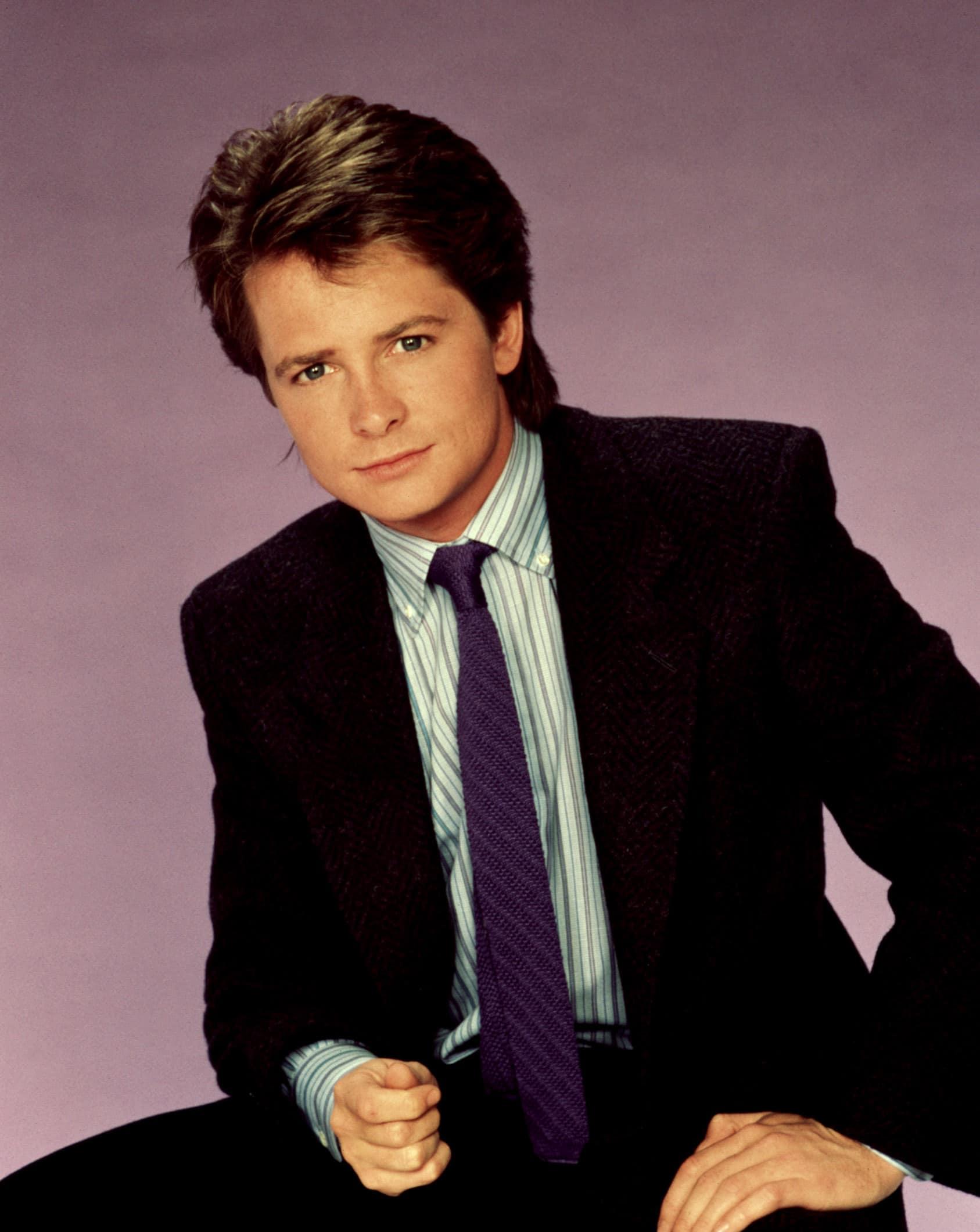 FAMILY TIES, Michael J. Fox, 1982-1989