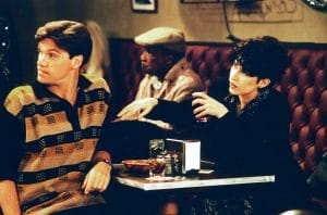 CAN'T HURRY LOVE, from left: Kevin Crowley, Nancy McKeon