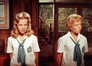 THE PARENT TRAP, Hayley Mills, 1961.