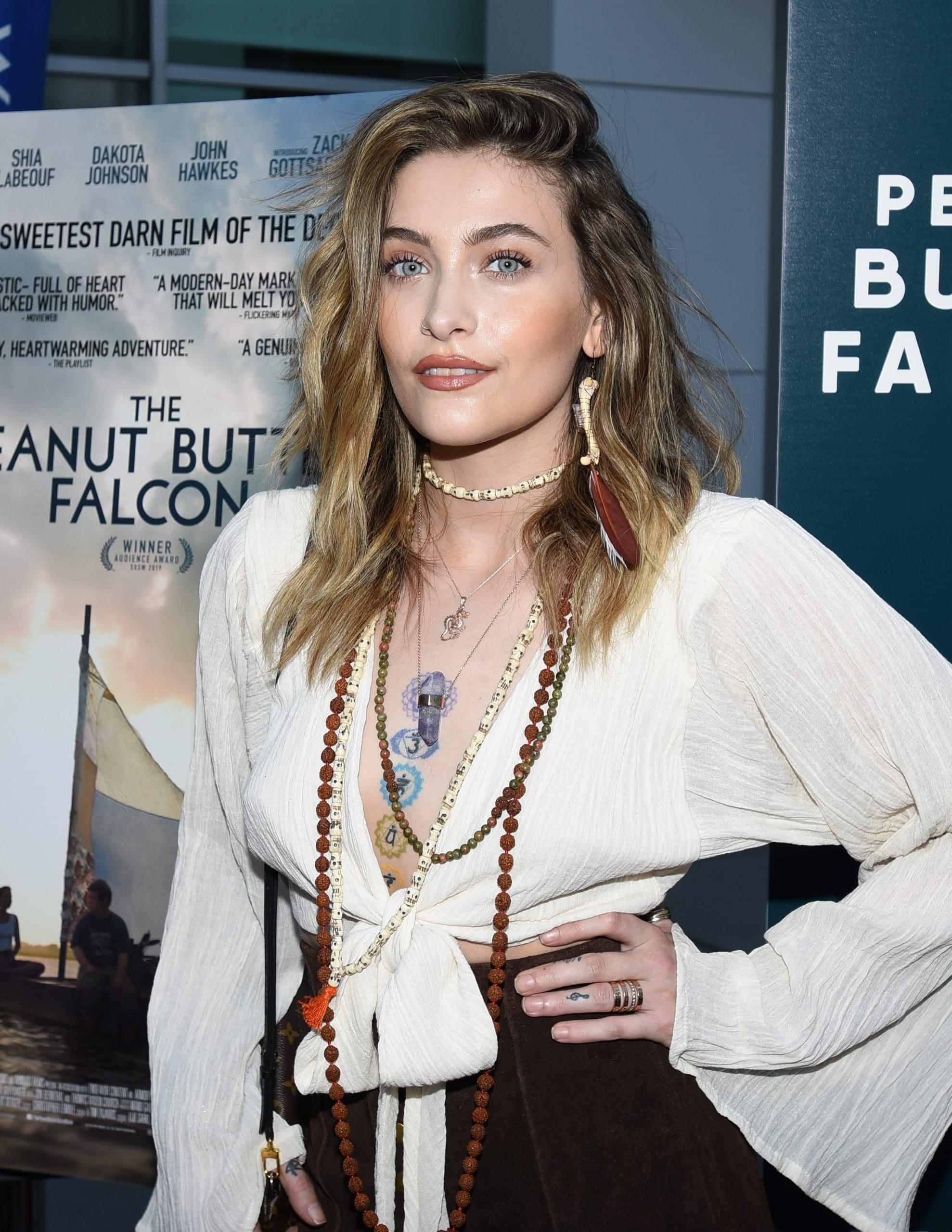 """Paris Jackson. """"The Peanut Butter Falcon"""" Los Angeles Premiere"""