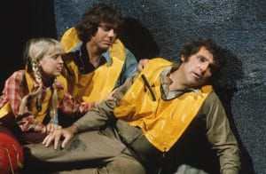 LAND OF THE LOST, (from left): Kathy Coleman, Wesley Eure