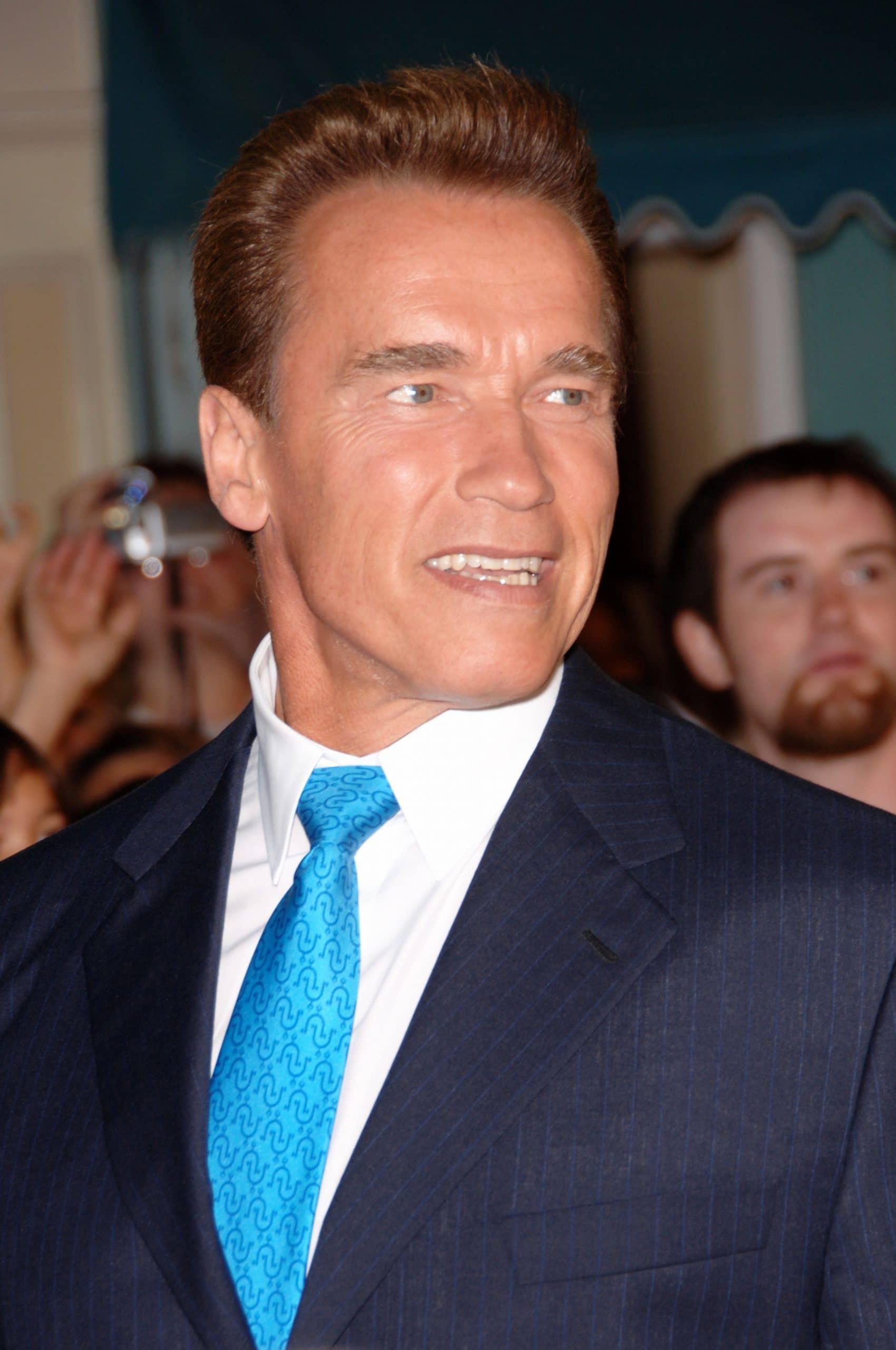 Actor & California Governor ARNOLD SCHWARZENEGGER