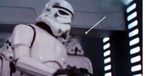 Storm Trooper bumps head