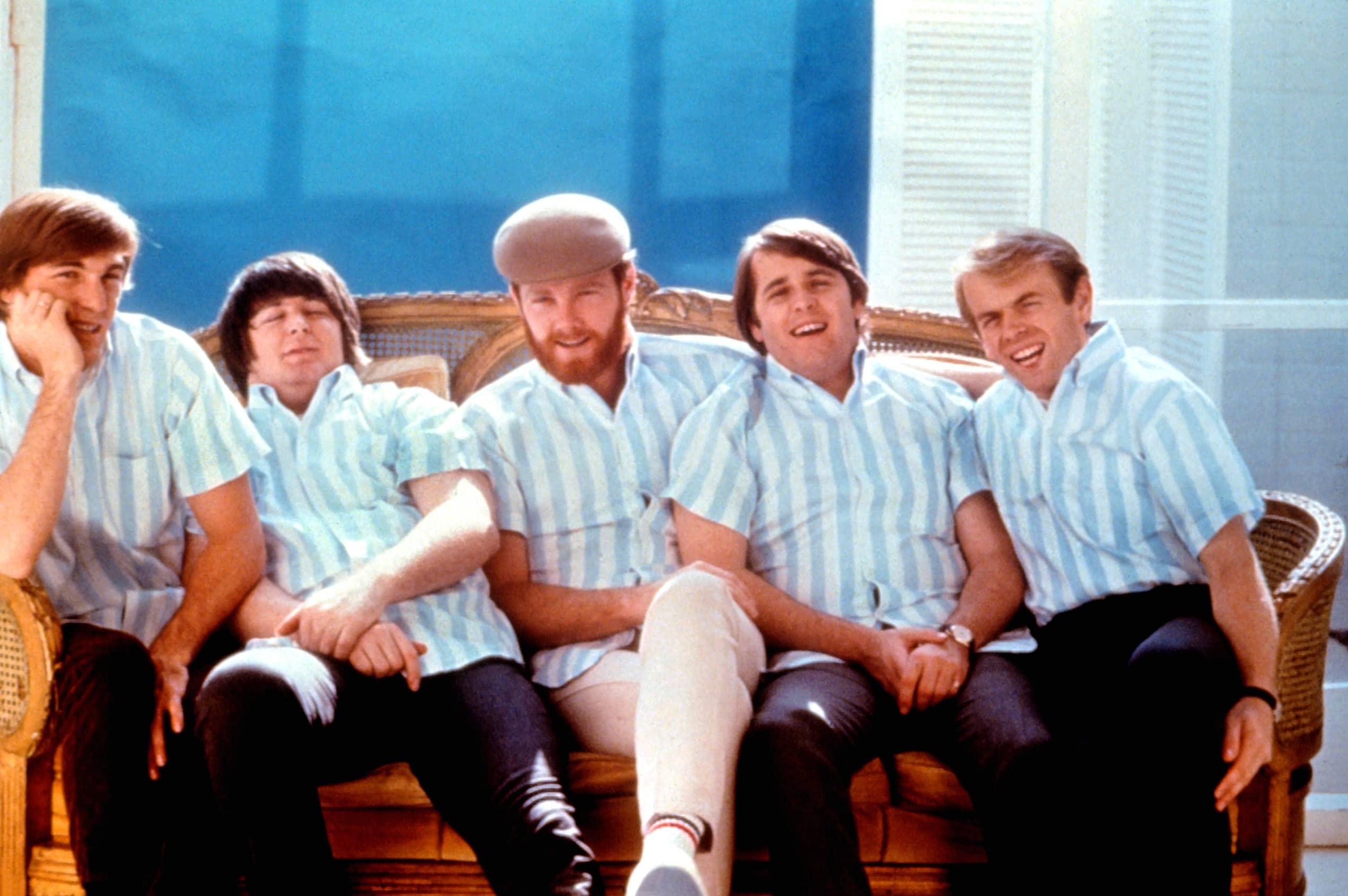 BEACH BOYS, Dennis Wilson, Brian Wilson, Mike Love, Carl Wilson, Al Jardine, mid-1960s
