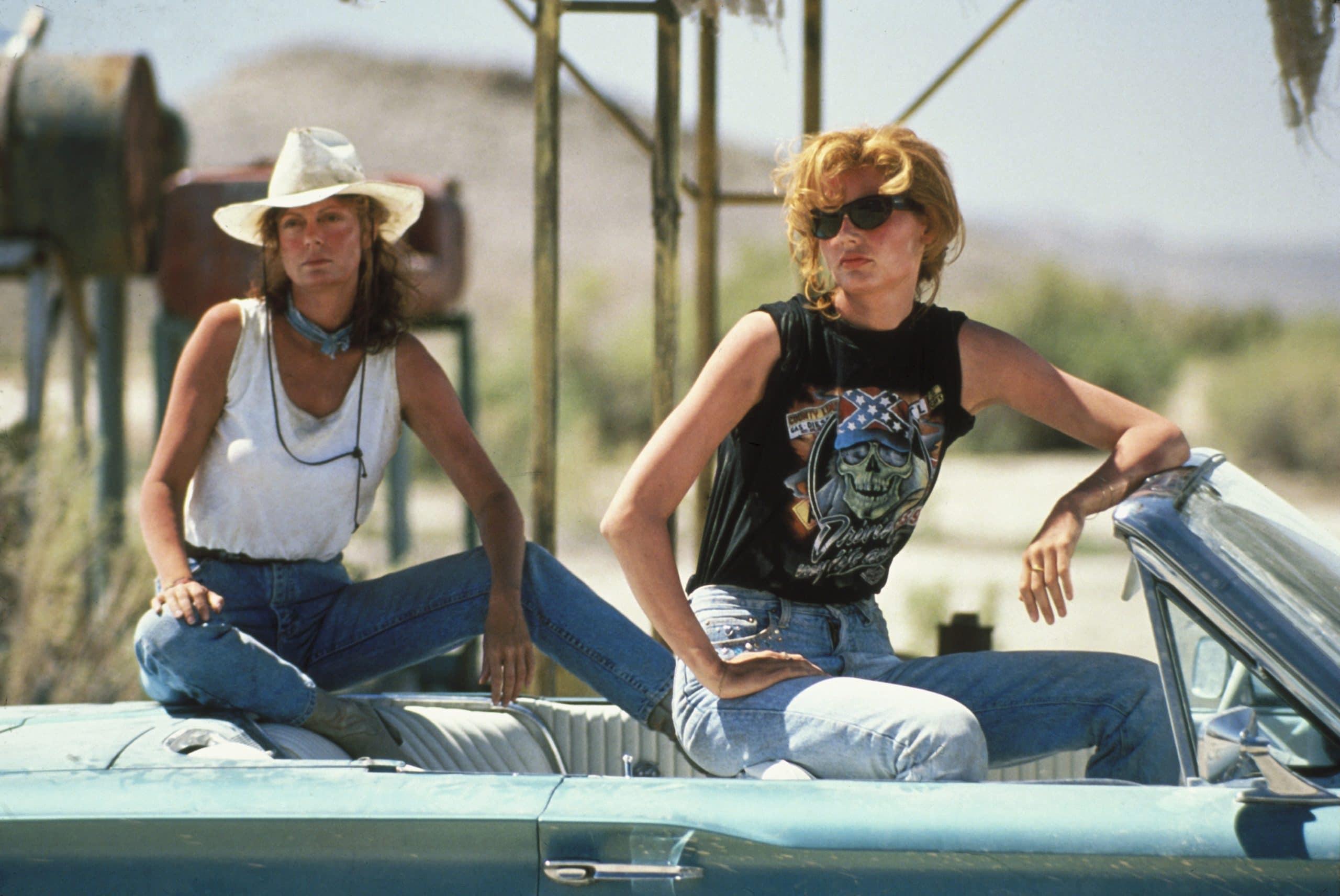 THELMA & LOUISE, Susan Sarandon, Geena Davis, 1991