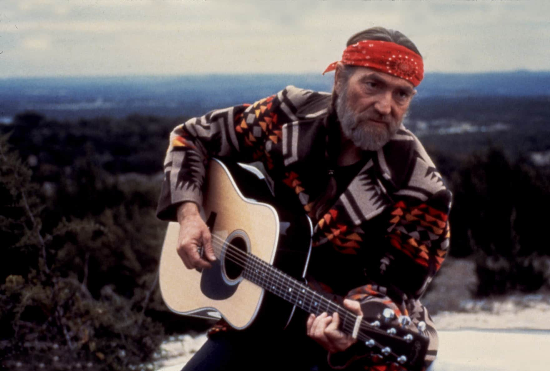 WILLIE NELSON, circa early '80s