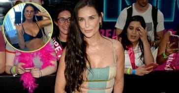 58-Year-Old Demi More Shows Off Incredible Bod In Bikini Selfie
