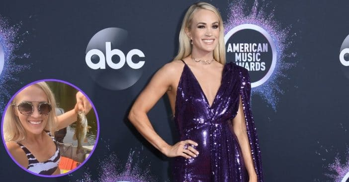 Carrie Underwood's Fishing Photo Stirs Up Controversy And Backlash