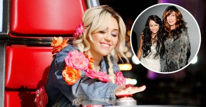 Cher praises Miley Cyrus cover of her song Believe