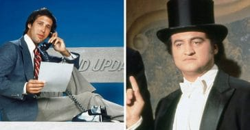 Chevy Chase and John Belushi had a feud