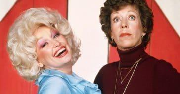 Dolly Parton and Carol Burnett
