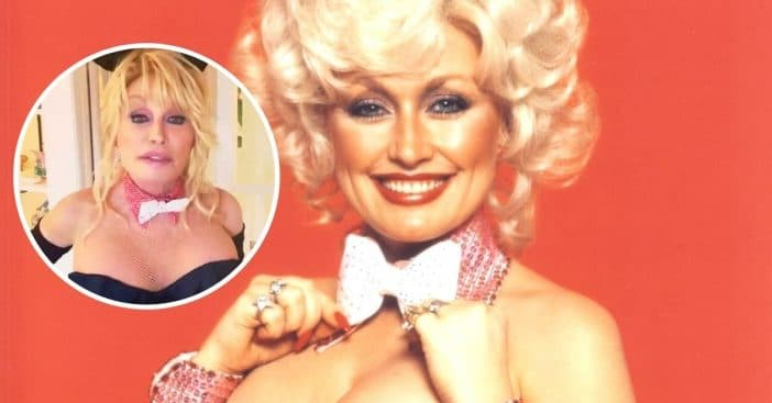 Dolly Parton celebrates husbands birthday with a Playboy photoshoot