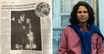 Doors Fans Remember Jim Morrison On 50th Anniversary Of His Death