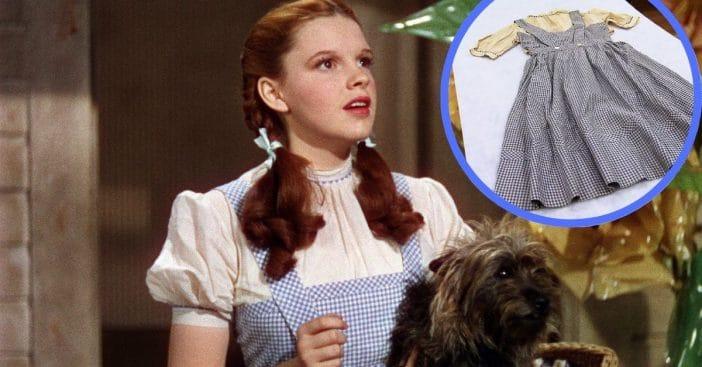 Dorothy's blue gingham dress