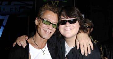 Eddie Van Halen always cheered on his son Wolfgang