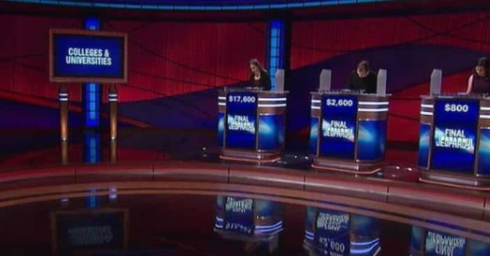 Fans upset at easy Final Jeopardy question