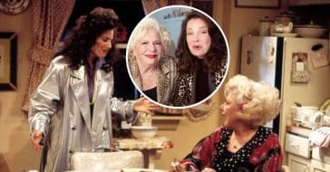 Fran Drescher and Renee Taylor from The Nanny reunited