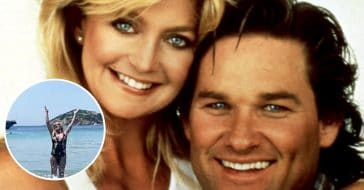 Goldie Hawn and Kurt Russell were seen on a vacation reminiscent of Overboard