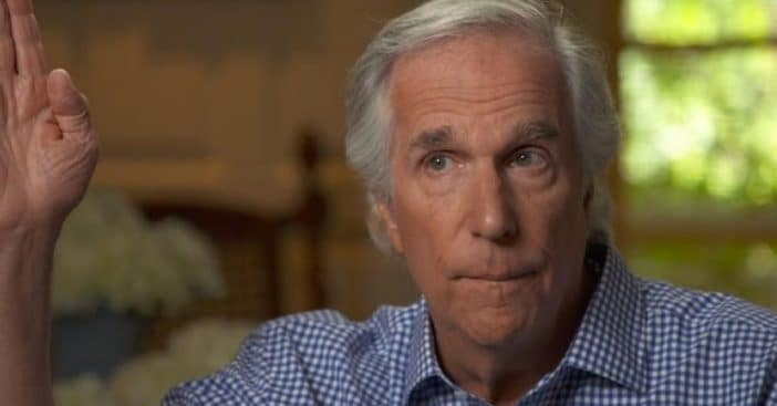 Henry Winkler discusses his dyslexia