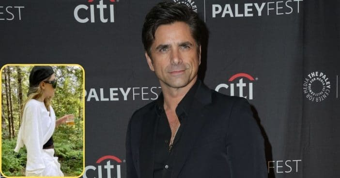 John Stamos Reacts To Photo Of Ashley Olsen Hiking With A Machete And A Drink