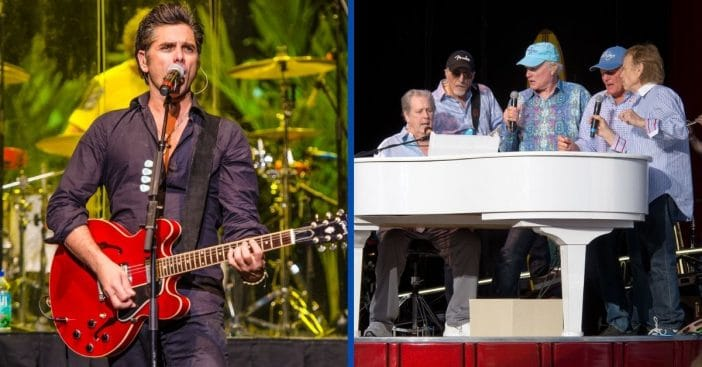 John Stamos Reunites With The Beach Boys For 4th Of July Special