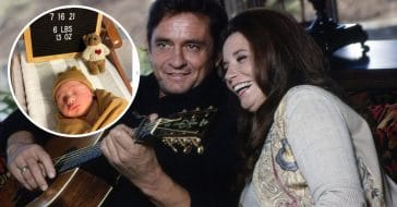 Johnny Cash and June Carter Cash son had a baby