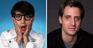 Josh Saviano then and now