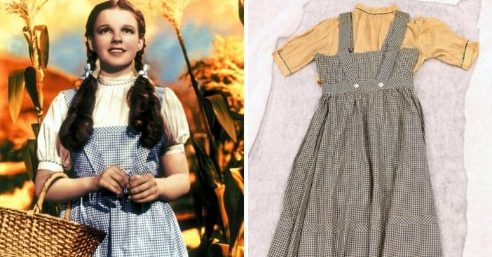 Judy Garland's Long-Lost 'Wizard of Oz' Dress Rediscovered Decades Later