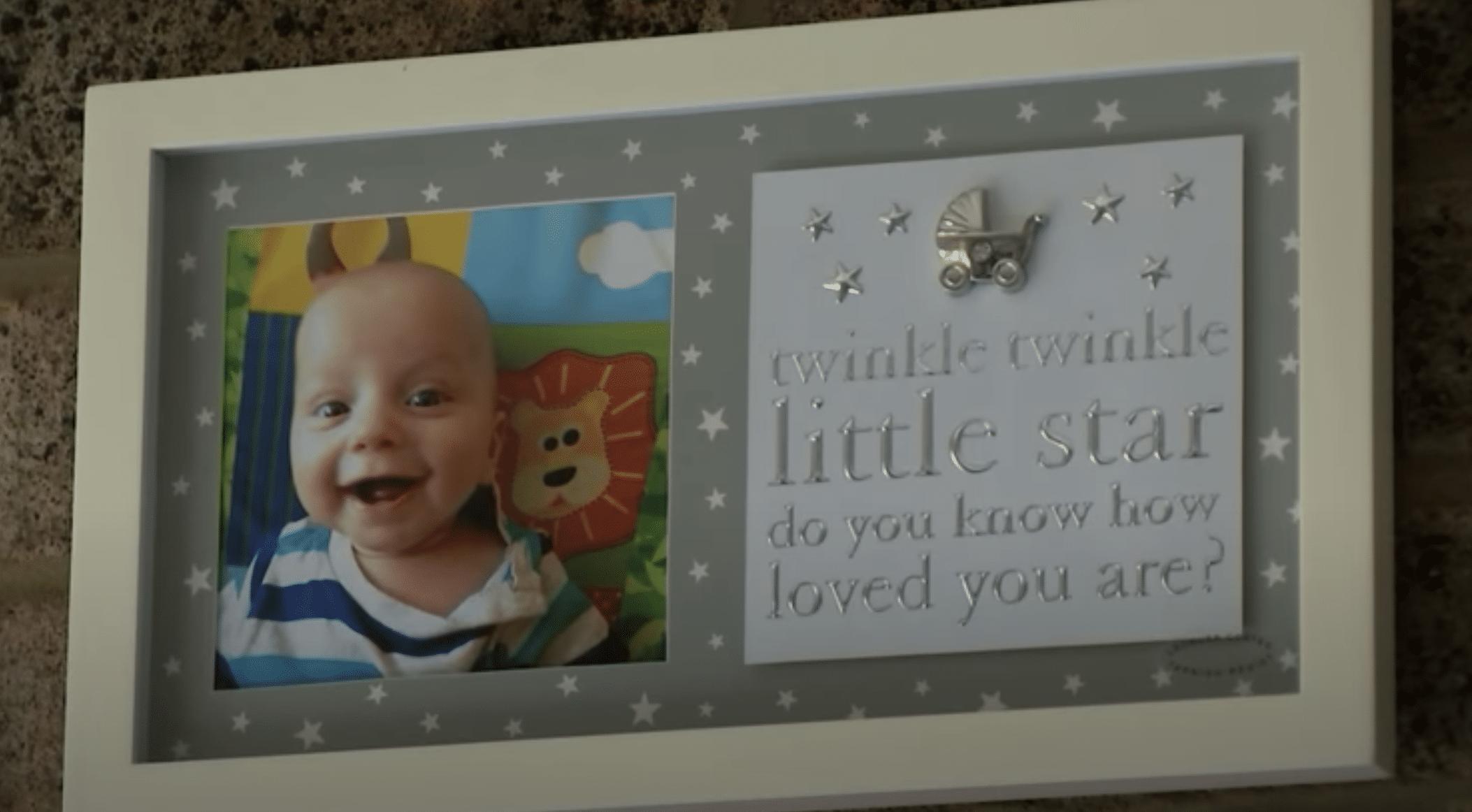 Louise Warneford's baby boy William