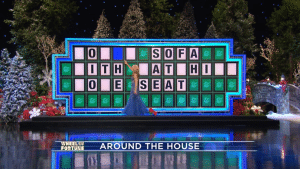 No one, including Vanna White herself at first, made mention of this Wheel of Fortune blooper for a while