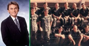 Pat Sajak about his time serving during Vietnam