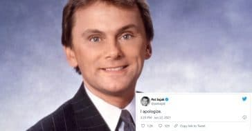 Pat Sajak issues a public apology