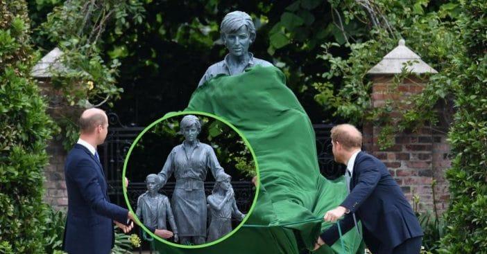 Prince William And Harry Reunite To Unveil Statue Of Princess Diana
