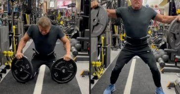 Sylvester Stallone Is Being Accused Of Using Fake Weights During His Workout