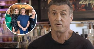 Sylvester Stallone shares stunning pic of his daughters