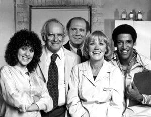 DOC, Lisa Mordente, Barnard Hughes, David Ogden Stiers, Audra Lindley, Ray Vitte, 09/24/1976. 1975-1