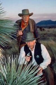 Gunsmoke, Morgan Woodward, James Arness